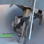 Rührwerk und Schieber im Polaro 170E von LEHNER