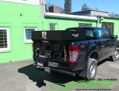 Ford Ranger mit Buyers SaltDogg Aufbaustreuer bzw V-Streuer