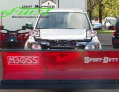 Ford Ranger mit THE BOSS Sport Duty 230cm Schneeschild