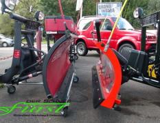 SnoWay 182cm Schneeschild versus THE BOSS SportDuty 185cm Schneeschild