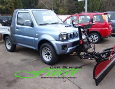 Suzuki Jimny PickUp mit THE BOSS Sport Duty 185cm Schneeschild