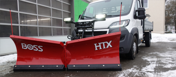 THE BOSS HTX Vario Pflug mit 230cm Breite