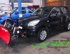 Daihatsu Terios mit THE BOSS SportDuty Schneeschild