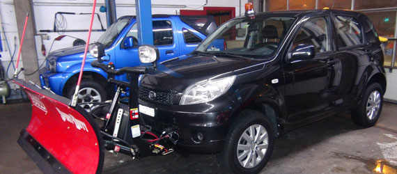 Daihatsu Terios mit THE BOSS SportDuty Pflug
