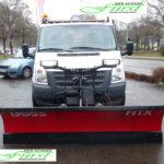Ford Transit als Winterdienstfahrzeug