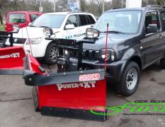 Suzuki Jimny  mit THE BOSS Sport Duty 200cm V-Pflug