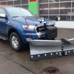 HILLTIP V-Pflug SnowStriker VP 225 an Ford Ranger