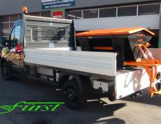 Nutzfahrzeuge lassen sich auch mit dem großen LEHNER Polaro XL ausstatten