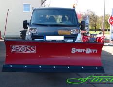 Opel Movano und THE BOSS Schneepflug
