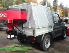 Suzuki Jimny PickUp mit Plane und THE BOSS Winterdienstausstattung