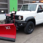 THE BOSS 200cm V-Pflug an neuem SUZUKI Jimny