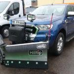 HILLTIP SnowStriker 225 V-Pflug an Ford Ranger Automatik