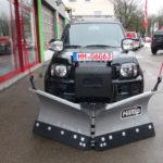 Suzuki Jimny mit HILLTIP SnowStriker VP mit 185cm Breite