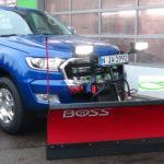 Ford Ranger als leistungsstarkes Fahrzeug gegen Schnee und Eis