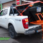 Nissan Navara mit LEHNER Polaro L Aufbaustreuer