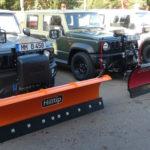 neuer SUZUKI Jimny mit HILLTIP und THE BOSS Schneeschild und V-Pflug